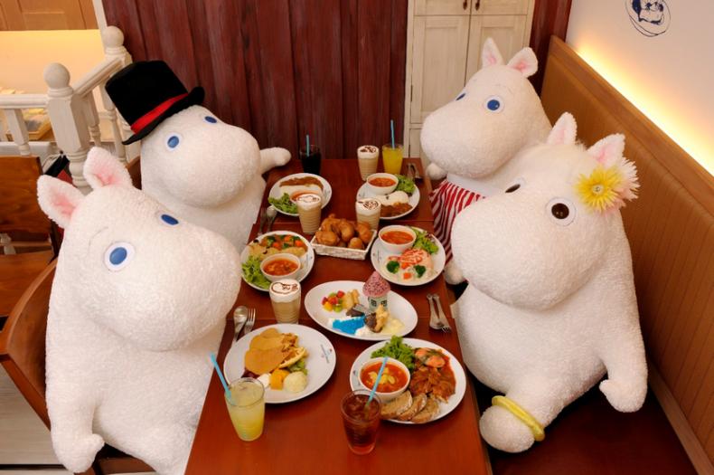 東京スカイツリー・ソラマチタウン ムーミンハウスカフェ ソラマチ店 予約 混雑状況 待ち時間 アクセス方法